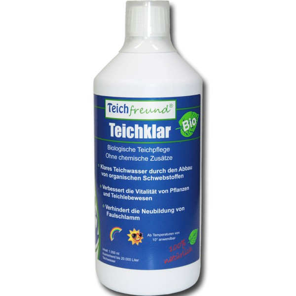 TEICHFREUND® Teichklar Bio Wasseraufbereiter 1L - 21410 | © by teichfreund24.de