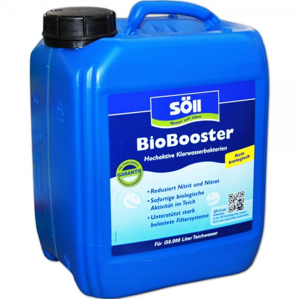 SÖLL BioBooster Algenbekämpfung 5L - 4021028102541 | © by teichfreund24.de