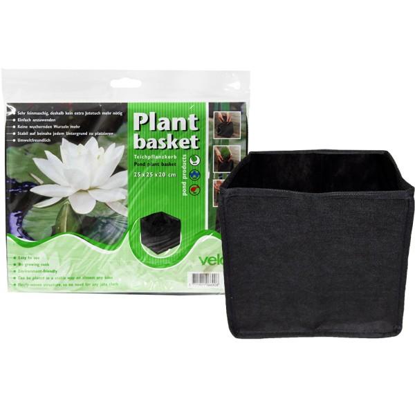 VELDA Plant Basket Pflanzkorb 25x25x20cm - 8711921066908 | © by teichfreund24.de