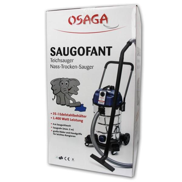 OSAGA Saugofant Teichsauger - 4250247609108 | © by teichfreund24.de