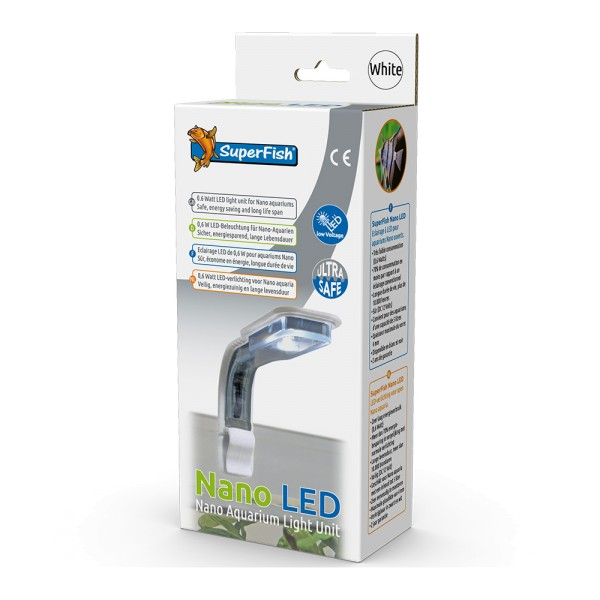 SuperFish Nano LED weiß Aquarium-Beleuchtung - 8715897276521 | by teichfreund24.de