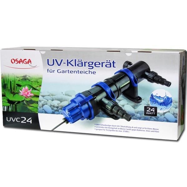 Osaga UV-Klärgerät UVC 24 Modell 2019 - 4250247609009 | © by teichfreund24.de