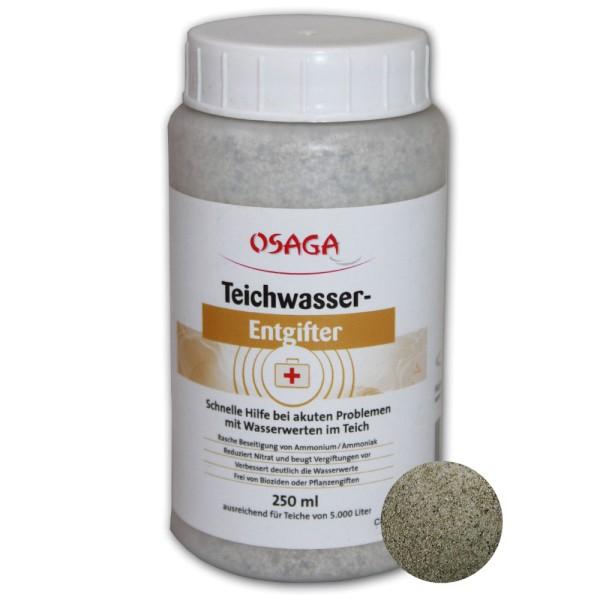 OSAGA Teichwasser-Entgifter 250ml - 4250247609962   © by teichfreund24.de