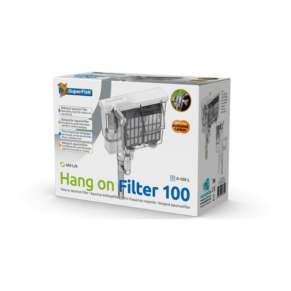 SuperFish Hang on Filter 100 Anhängefilter - 8715897313349 | by teichfreund24.de